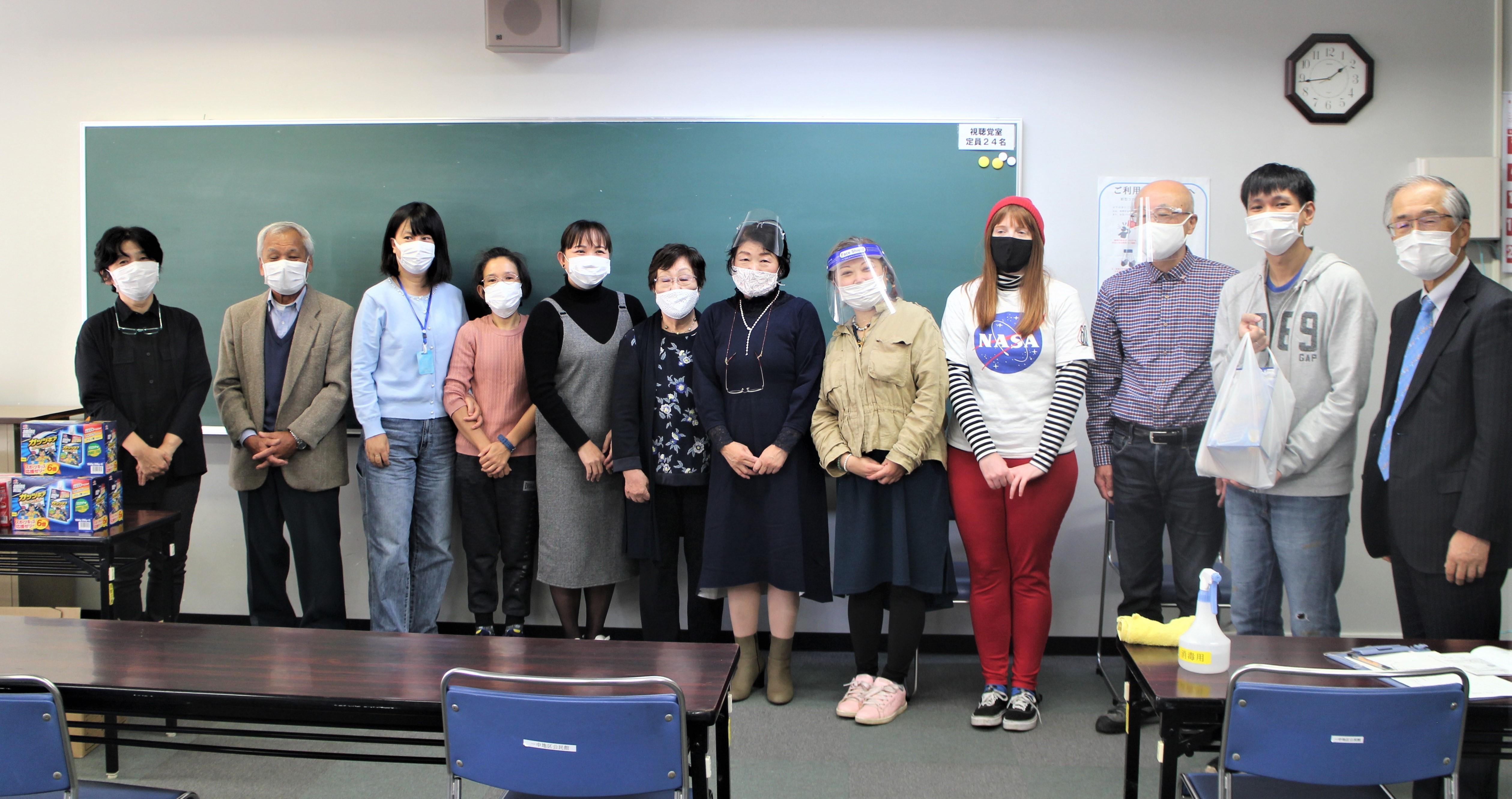 日本語教室水曜日クラス